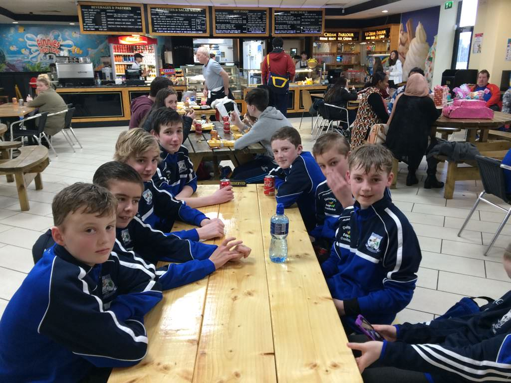 Under 14's Trip to Abbotstown
