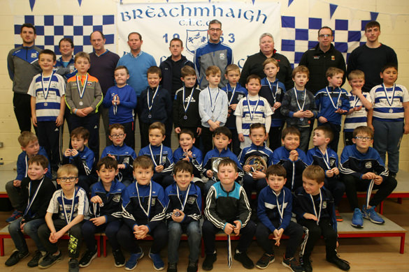 Breaffy GAA Bord na nÓg Presentation Night 2018