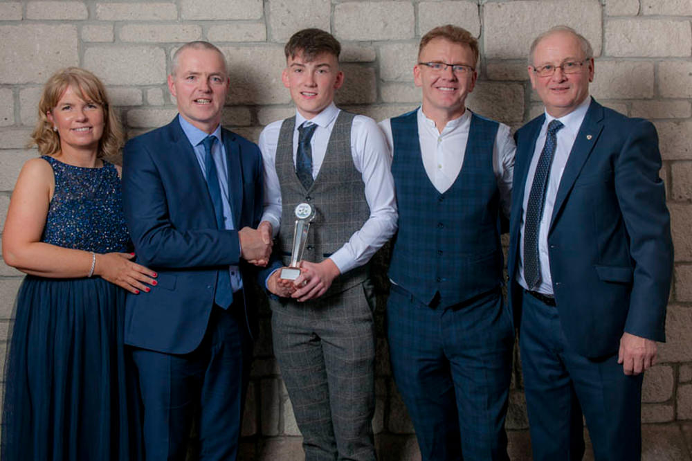 Breaffy GAA Dinner Dance David Livingstone POTY